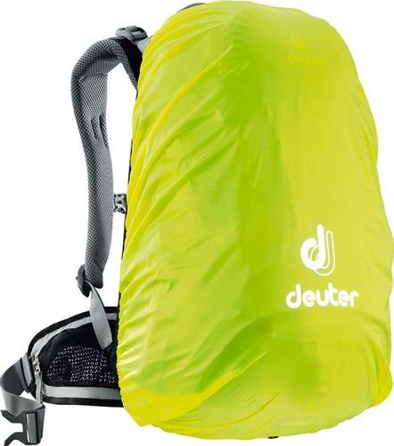 capa de chuva deuter camping mochila impermeável até 32 l