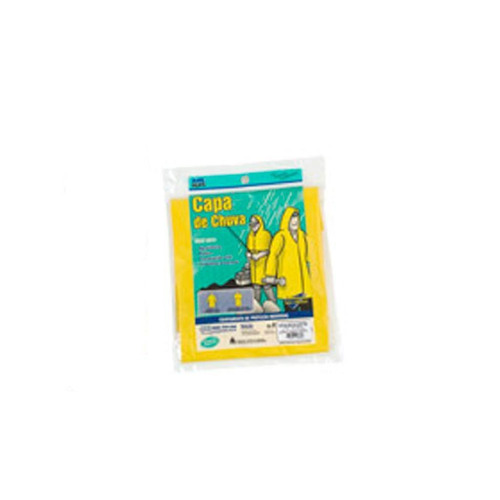 capa de chuva g forrada manga longa amarela 902660 balaska