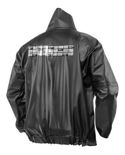 capa de chuva motoqueiro, masculino, preto delta _