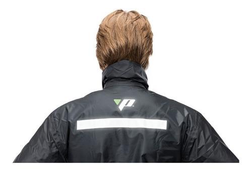 capa de chuva motoqueiro nylon luxo pantaneiro c/ forro