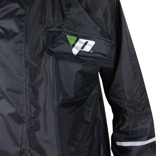 capa de chuva motoqueiro nylon luxo pantaneiro com forro