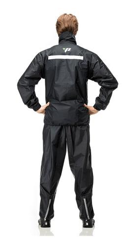 capa de chuva motoqueiro nylon pantaneiro somente tam exg