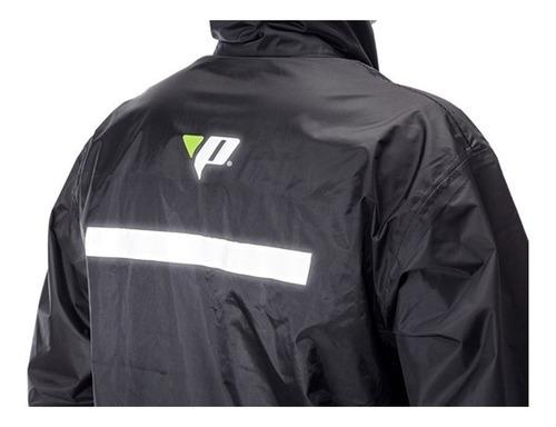 capa de chuva motoqueiro nylon pantaneiro tam: g