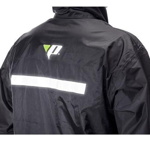 capa de chuva motoqueiro nylon pantaneiro tam:gg-1000pd-gg