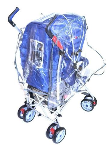 capa de chuva para carrinho de bebe - love