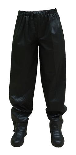 capa de chuva para motoqueiro calça avulsa pvc pantaneiro
