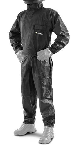 capa de chuva para motoqueiro + colete motoboy pro tork