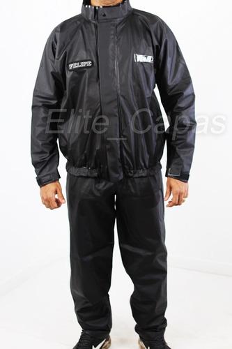 capa de chuva para motoqueiro com seu nome personalizado