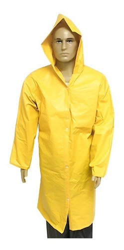 capa de chuva para trabalho forrada amarela