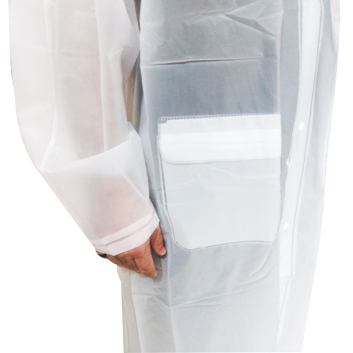 a8b0a66b9dd capa de chuva unissex transparente tamanho g com capuz. Carregando zoom.