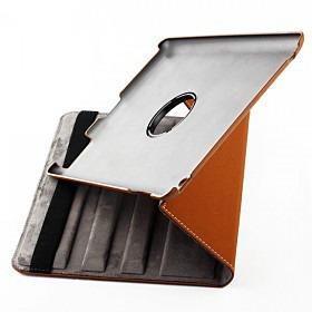capa de couro para ipad 3 super luxo