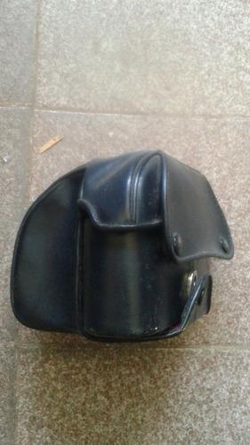 capa de couro para máquina zenit
