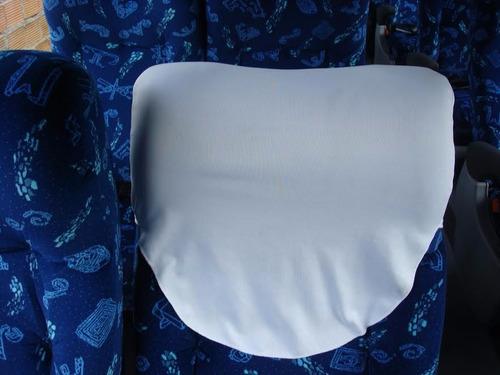 capa de encosto de cabeça para onibus - cabeceira.