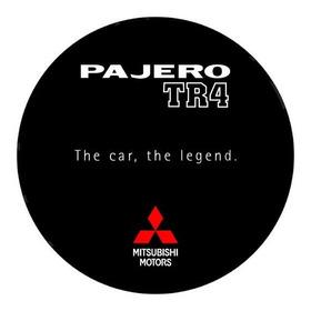 Capa De Estepe Pajero Tr4 The Car, The Legend Mitsubishi