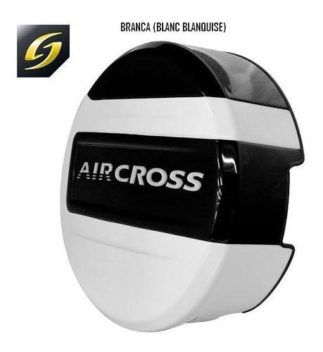 capa de estepe stribus aircross branca blanc blanquise
