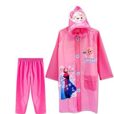 descuento hasta 60% Precio al por mayor 2019 venta oficial Capa De Lluvia Niños Chaqueta Y Pantalon Impermeable Frozen