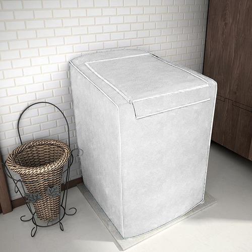 capa de máquina de lavar com zíper p electrolux 10kg +brinde