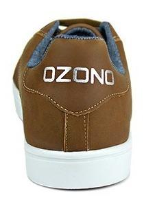 capa de ozono tenis para hombre color tan con suela