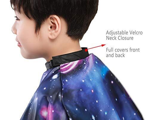 capa de peluquero para niños corte de pelo corte de pelo y