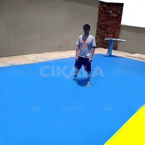 capa de piscina 3 em 1 proteção + termica completa 6,5x3,5 m