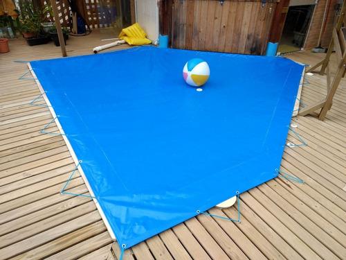 capa de piscina 3x3 200 micras proteção e qualidade