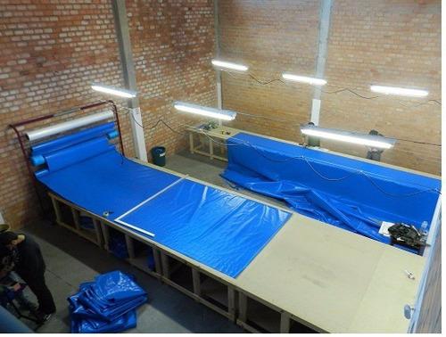 capa de piscina 4,5x2,5  lonaforte