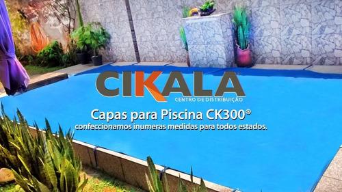 capa de piscina 5 em 1 proteção + termica completa 5x3 mts