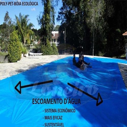 capa de piscina 5,5m x 3,5m lona proteção cobertura tela
