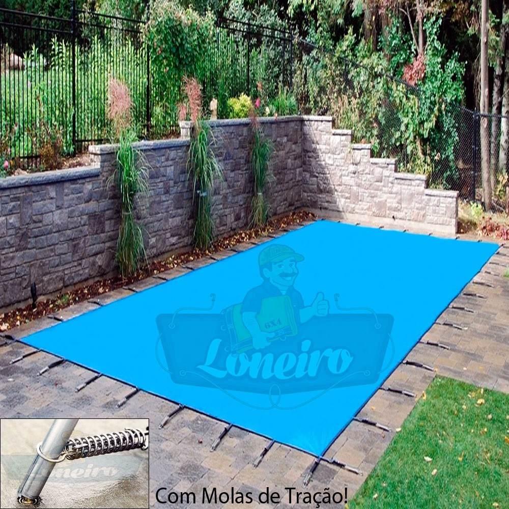 Capa de piscina 6 5m x 3 5m lona prote o cobertura cerca r em mercado livre - Lonas para piscinas a medida ...