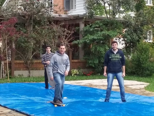 capa de piscina 7,2x4  lona forte 300 micras sob medida
