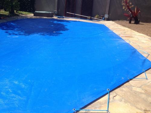 capa de piscina oitavada 3x3 sob medida