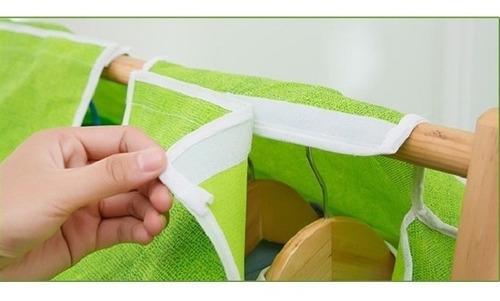 capa de proteção grande guarda roupa com ziper organizador