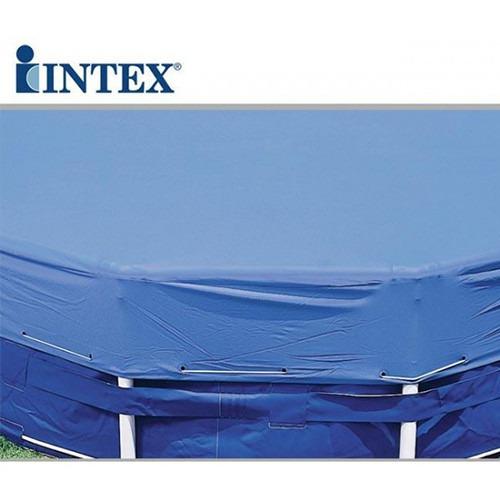 capa de proteção intex 457 cm piscina estrutural e inflável