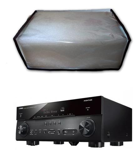 capa de proteção transparente receiver yamaha - frete grátis