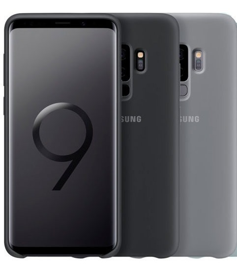 2cde34ac26 Capa De Silicone Original Samsung Para Galaxy S9 Ou S9 Plus - R$ 79 ...