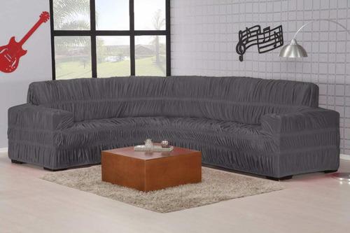 capa de sofá de canto malha gel até 6 lugares de ibitinga