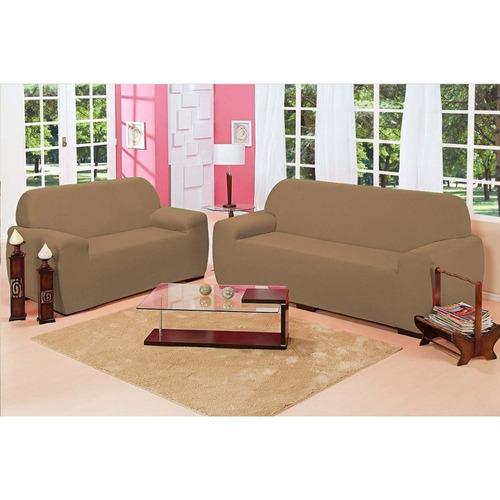 capa de sofá malha 2 e 3 lugares protetor moldada liquidação