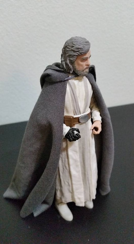 capa de tela para luke skywalker black series hasbro