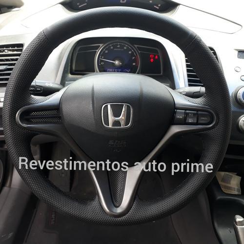 capa de volante costurada new civic 2007 a 2011