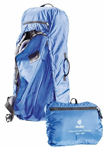 capa deuter transport cover para mochilas 60 a 90l