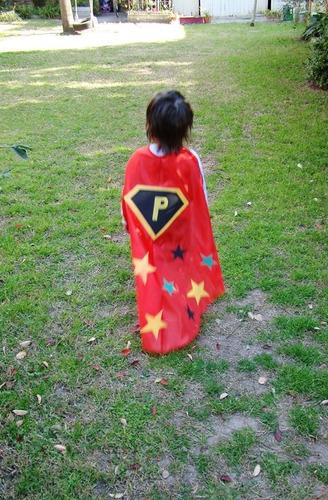 capa disfraz super héroe kit p/ crear jugar armar didáctico