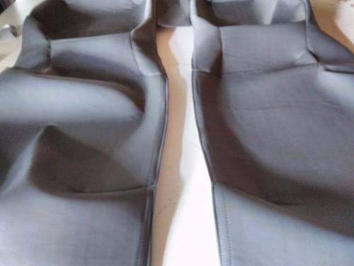 capa do assoalho couro ecologico  onix/prisma/cobalt/sonic