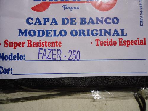 capa do banco original yamaha fazer250 modelo original*