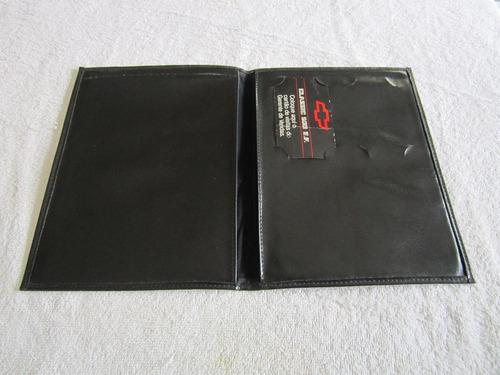 capa do manual monza classic 500 ef - original - usada -