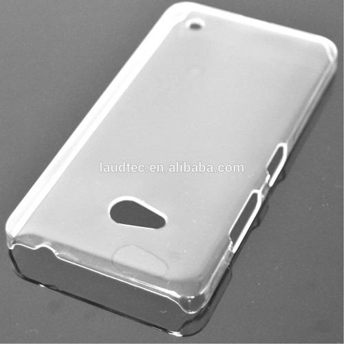capa dura acrílica transparente nokia lumia 640