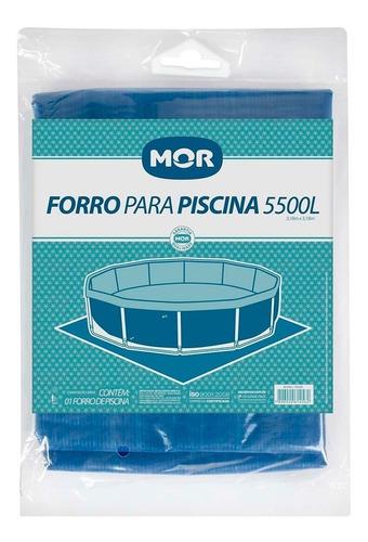 capa e forro para piscina estrutural 5500 litros redonda mor