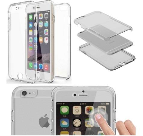 fb3eec57ae0 Capa Em 2 Partes Tpu Transparente 360 iPhone 7 Plus - 8 Plus - R$ 24 ...