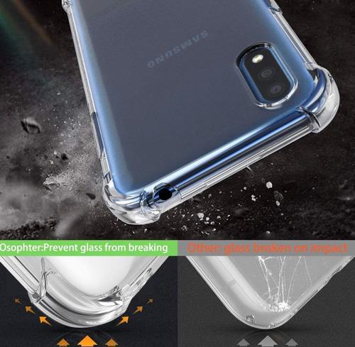 capa em gel anti-impacto p/ samsung galaxy a01 transparente