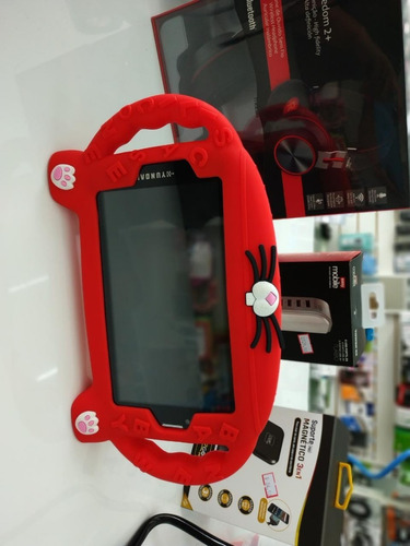 capa emborrachada para tablet de 7 polegadas