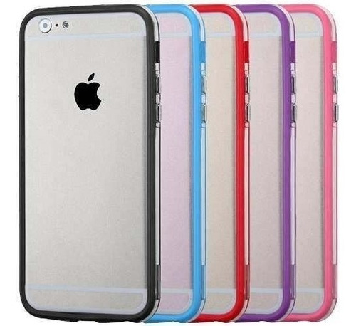 capa escudo bumper para iphone 6 (4.7) +pelicula gratis